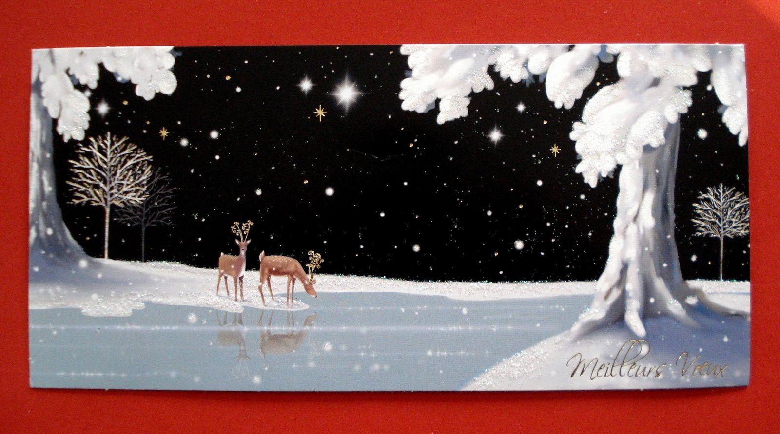 Cadeaux de Noël et cartes de voeux.
