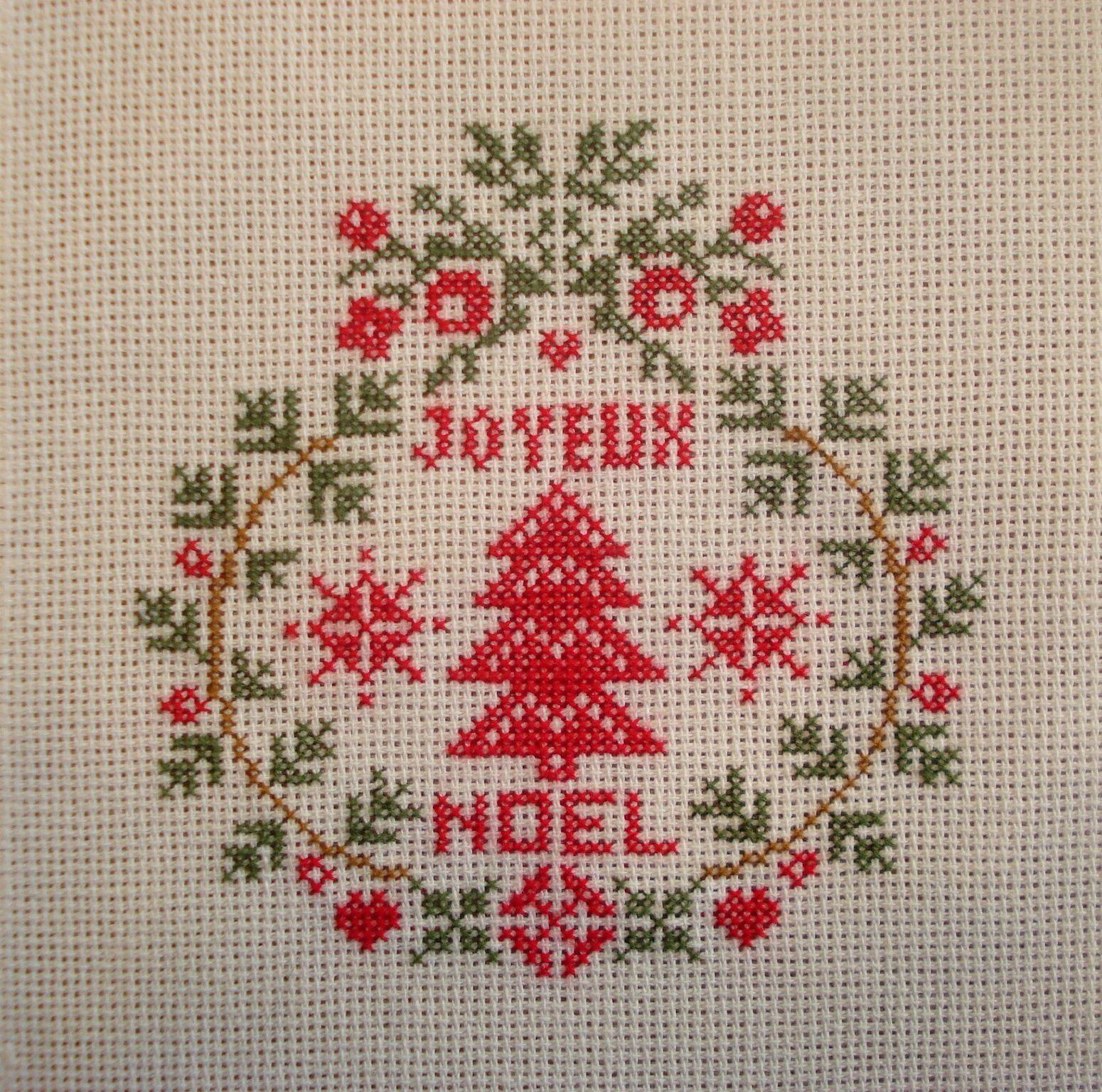 """Couronne """"Joyeux Noël"""" (6)."""