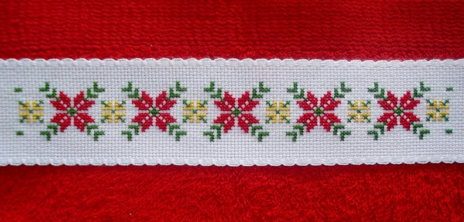 "Motif ""Poinsettias"""