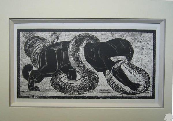 SARDONICA ou la femme panthère (k 11 - 1 )