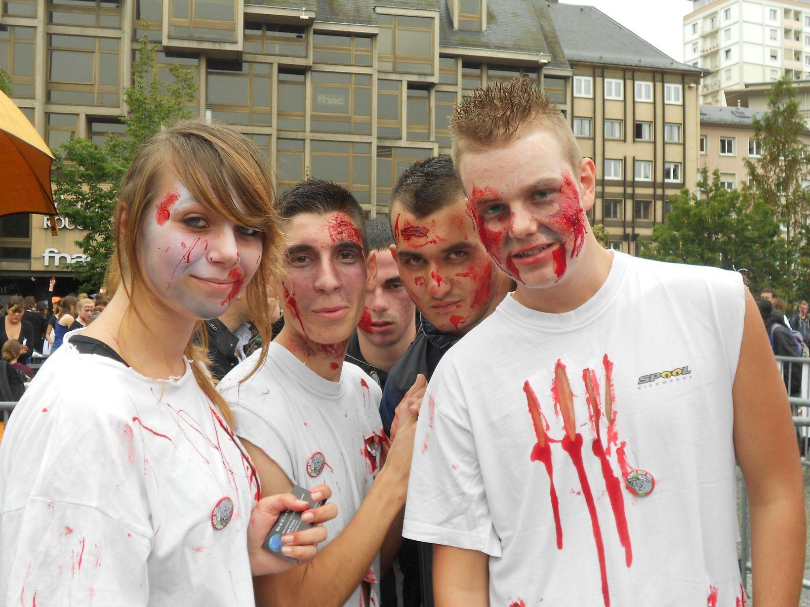 zombie walk strasbourg 2013
