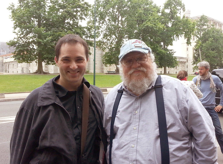 Marc Simonetti avec Georges R.R Martin