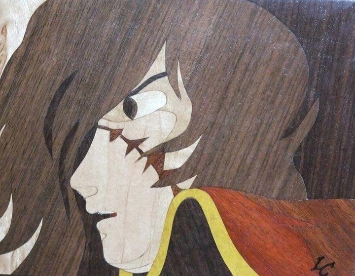 Tableau: Capitaine Albator (Harlock)
