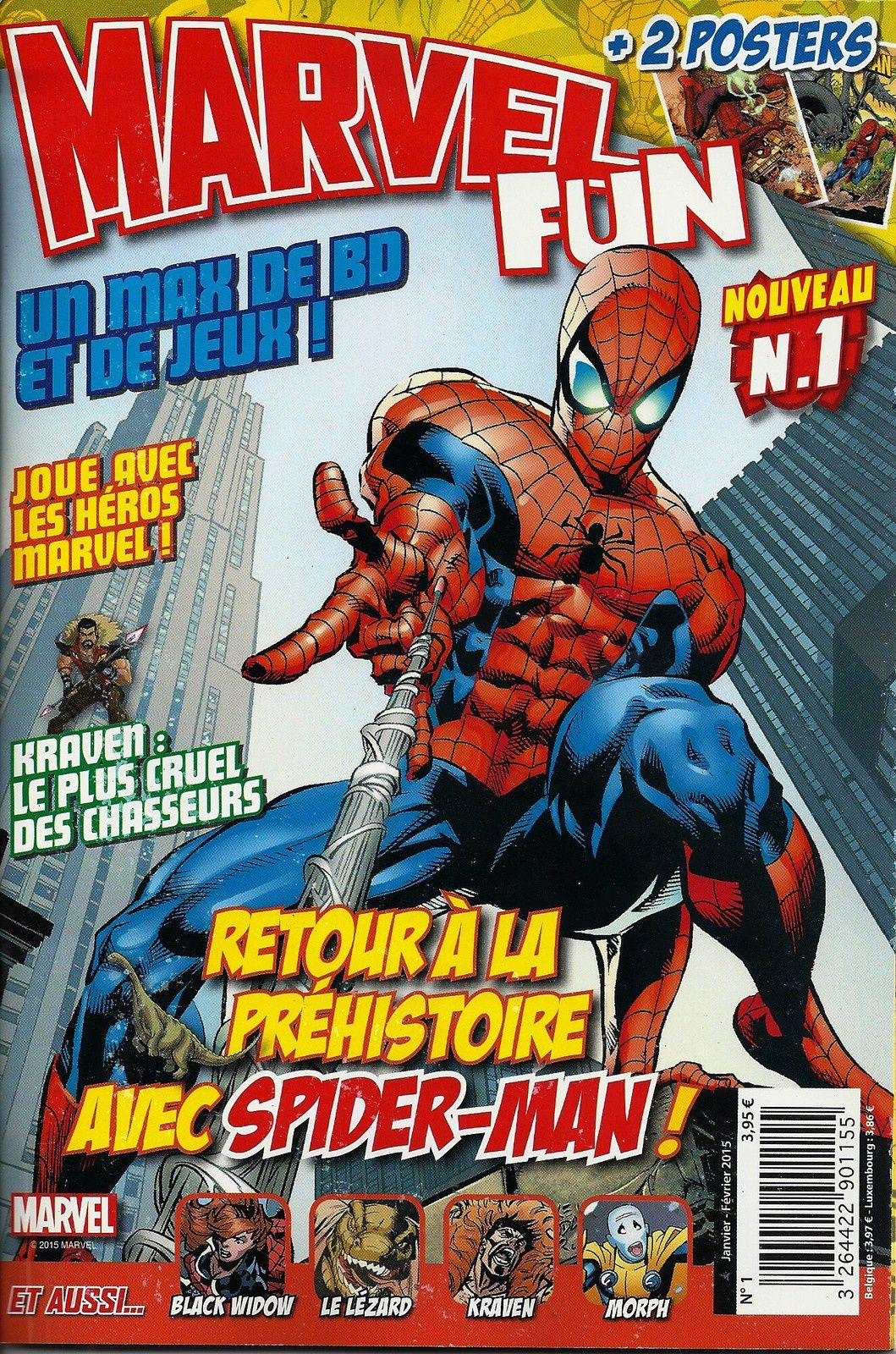 MARVEL FUN N°1