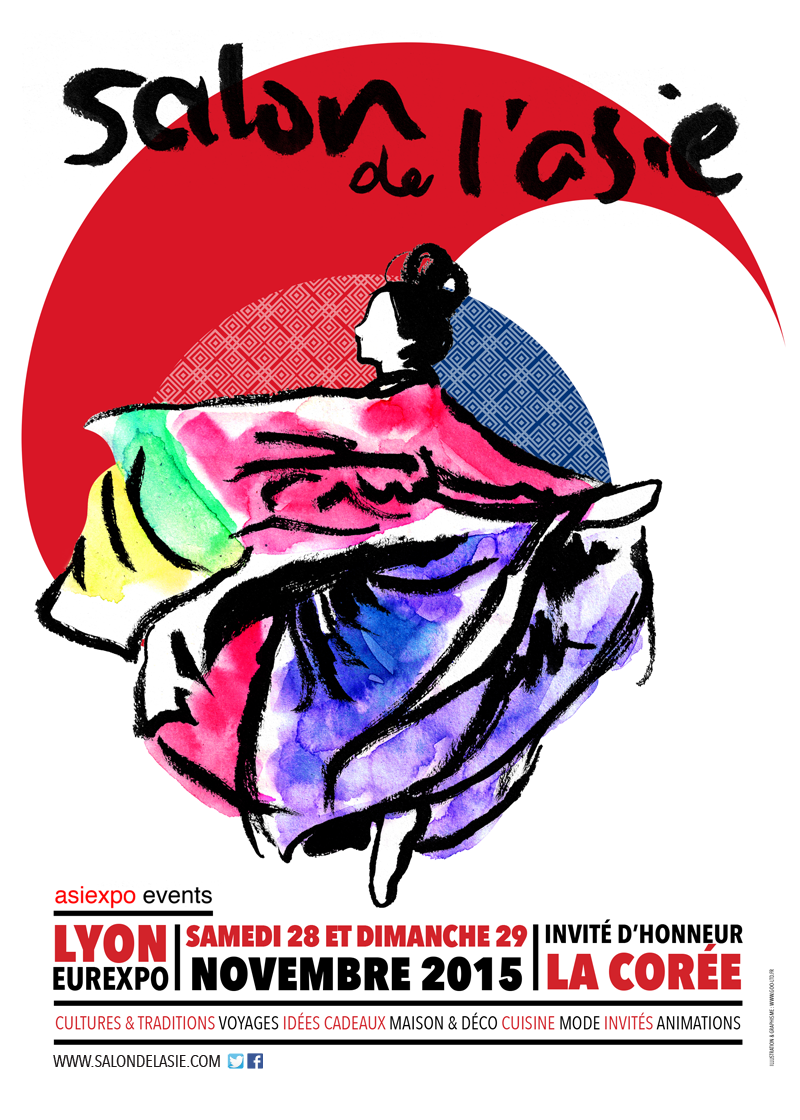 17e Japan Touch & 2e  Salon de l'Asie LYON EUREXPO