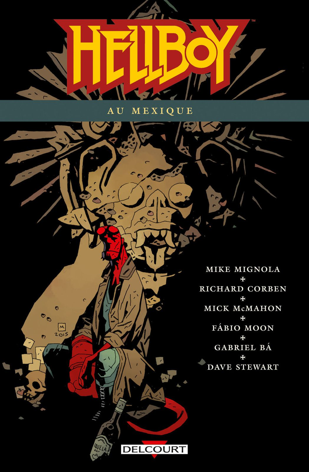 Hellboy au Mexique Mike MIGNOLA