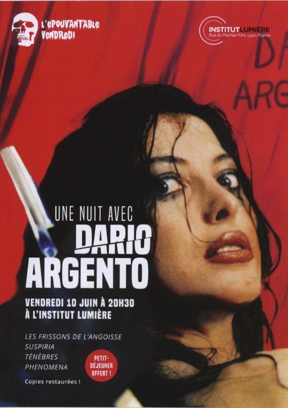 Epouvantable Vendredi Nuit Dario Argento