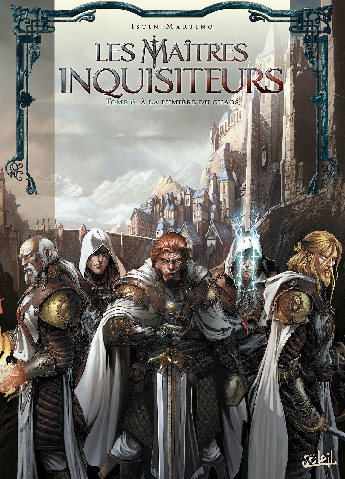 Maîtres inquisiteurs 06 - À la lumière du chaos (couverture)