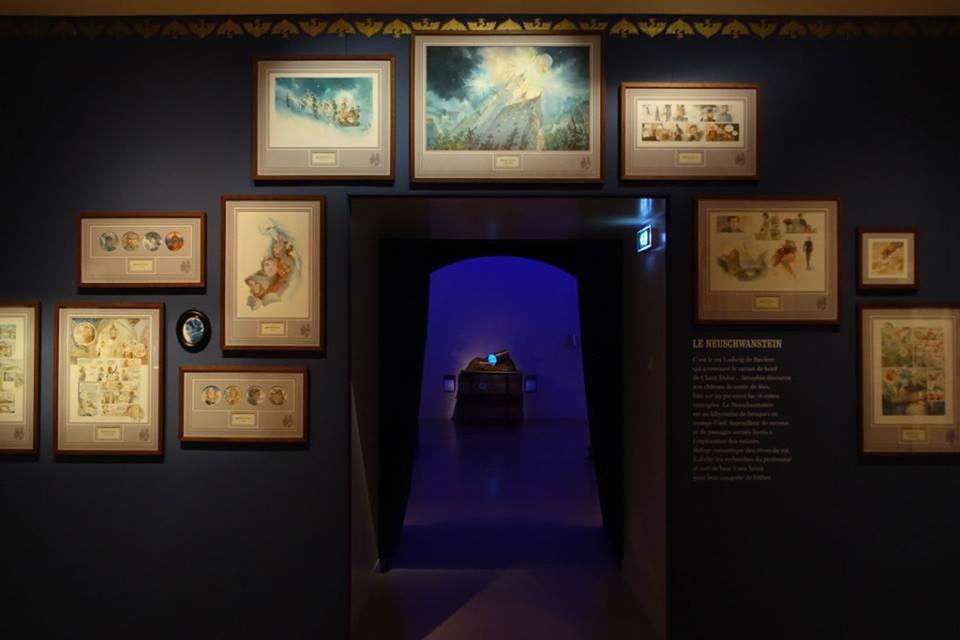 l'exposition Le Château des étoiles,