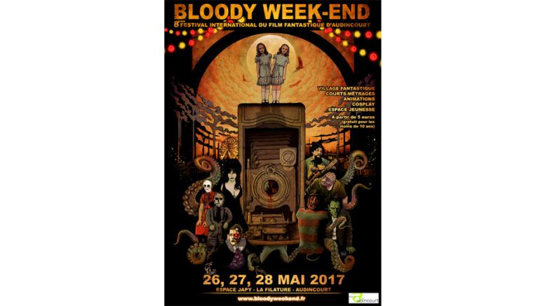 Bloody week end  (affiche)