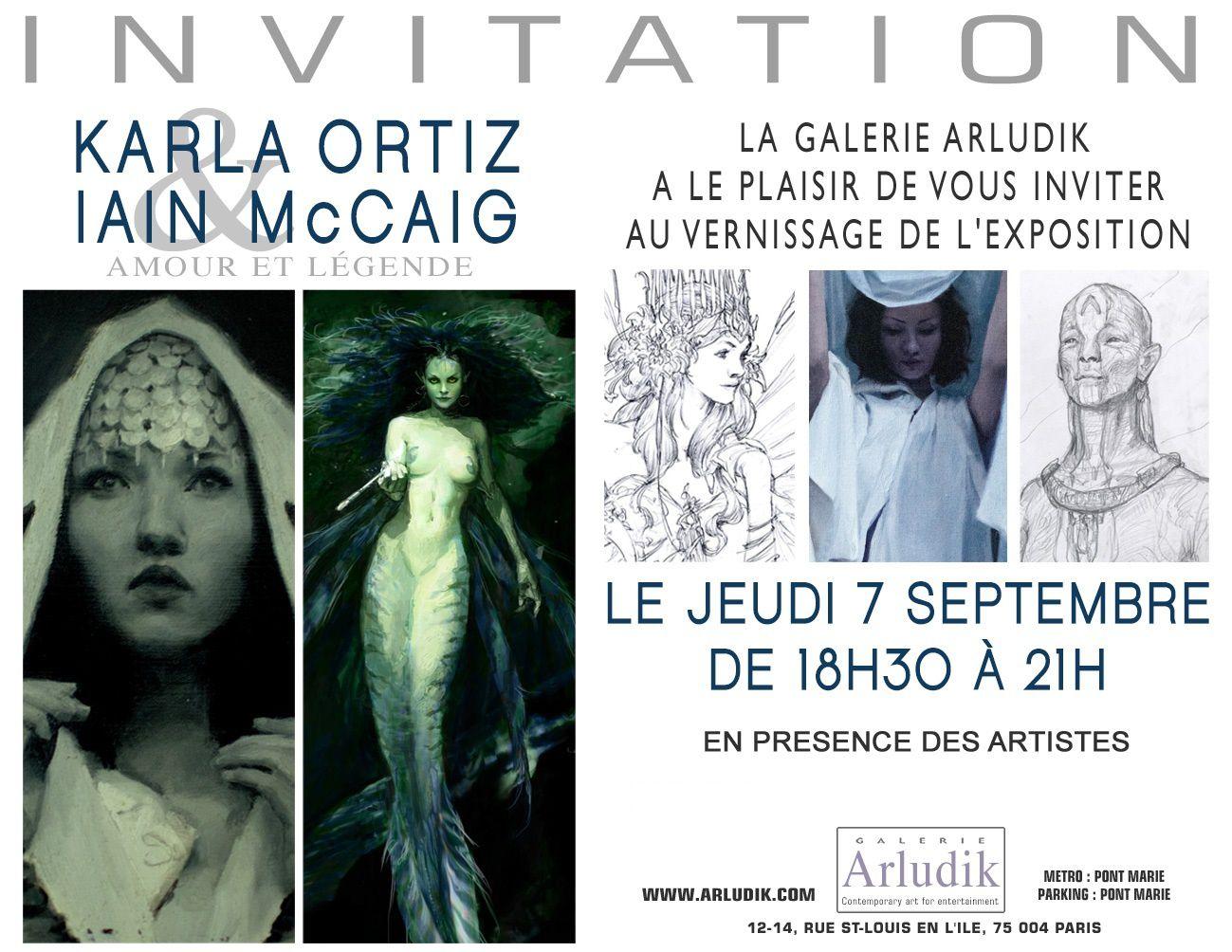Exposition Karla Ortiz Iain McCaig