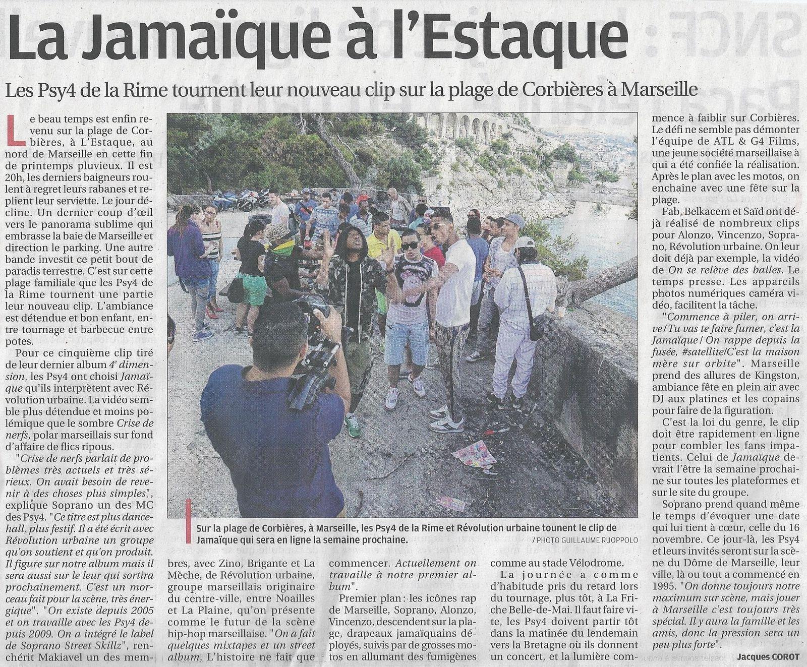 La Provence 14 Juin 2013