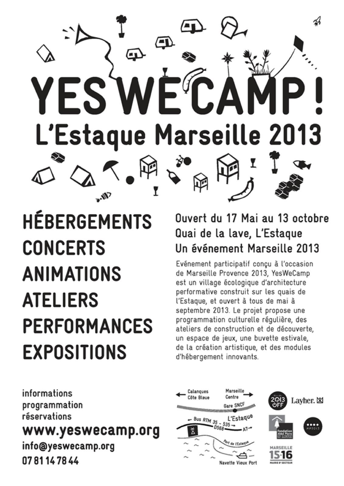 YesWeCamp - Offre de stage