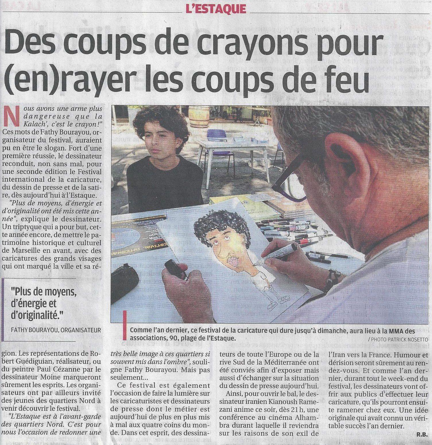 La Provence 19 septembre 2013