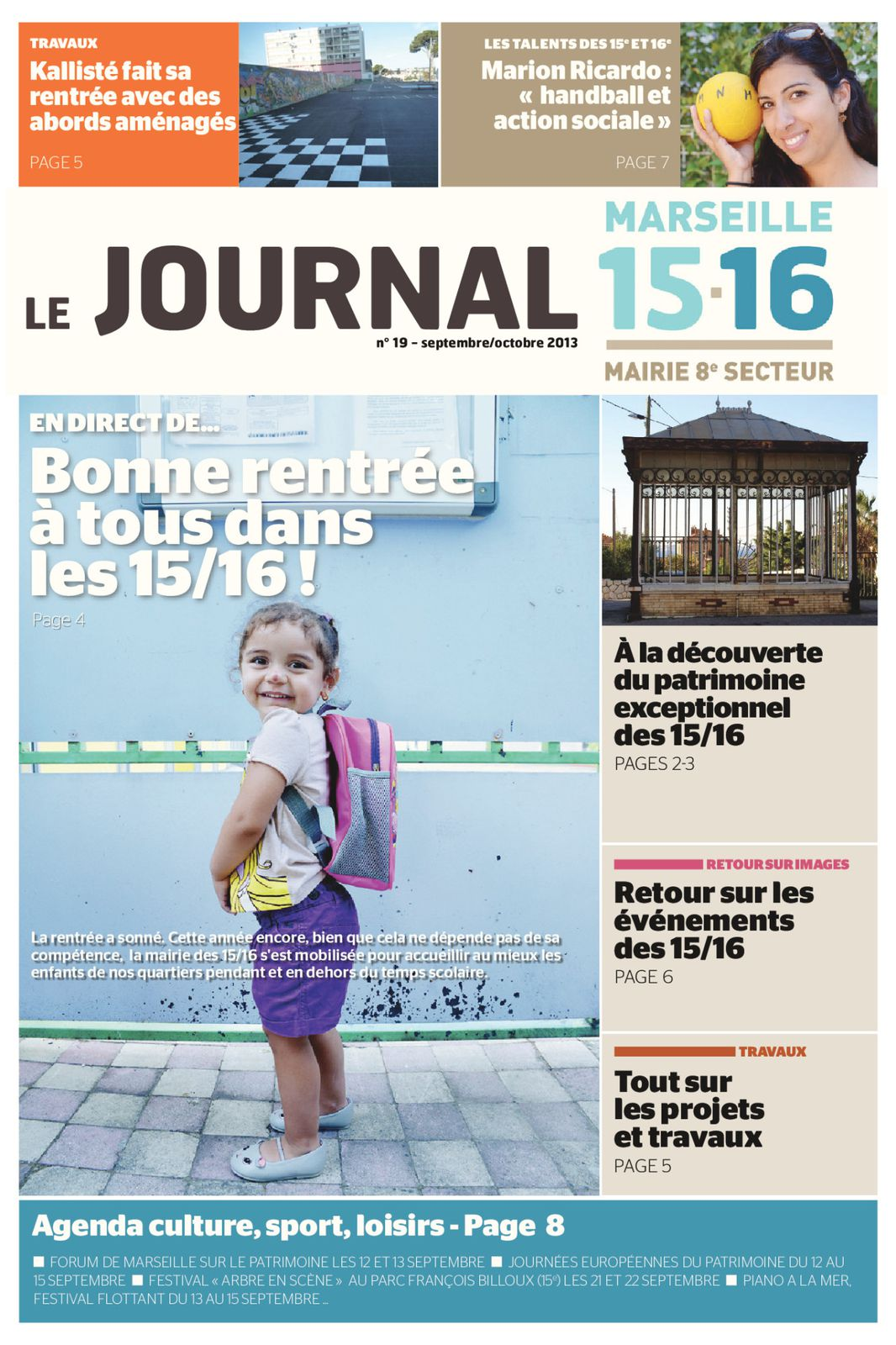 Le Journal du 15-16 Septembre Octobre 2013