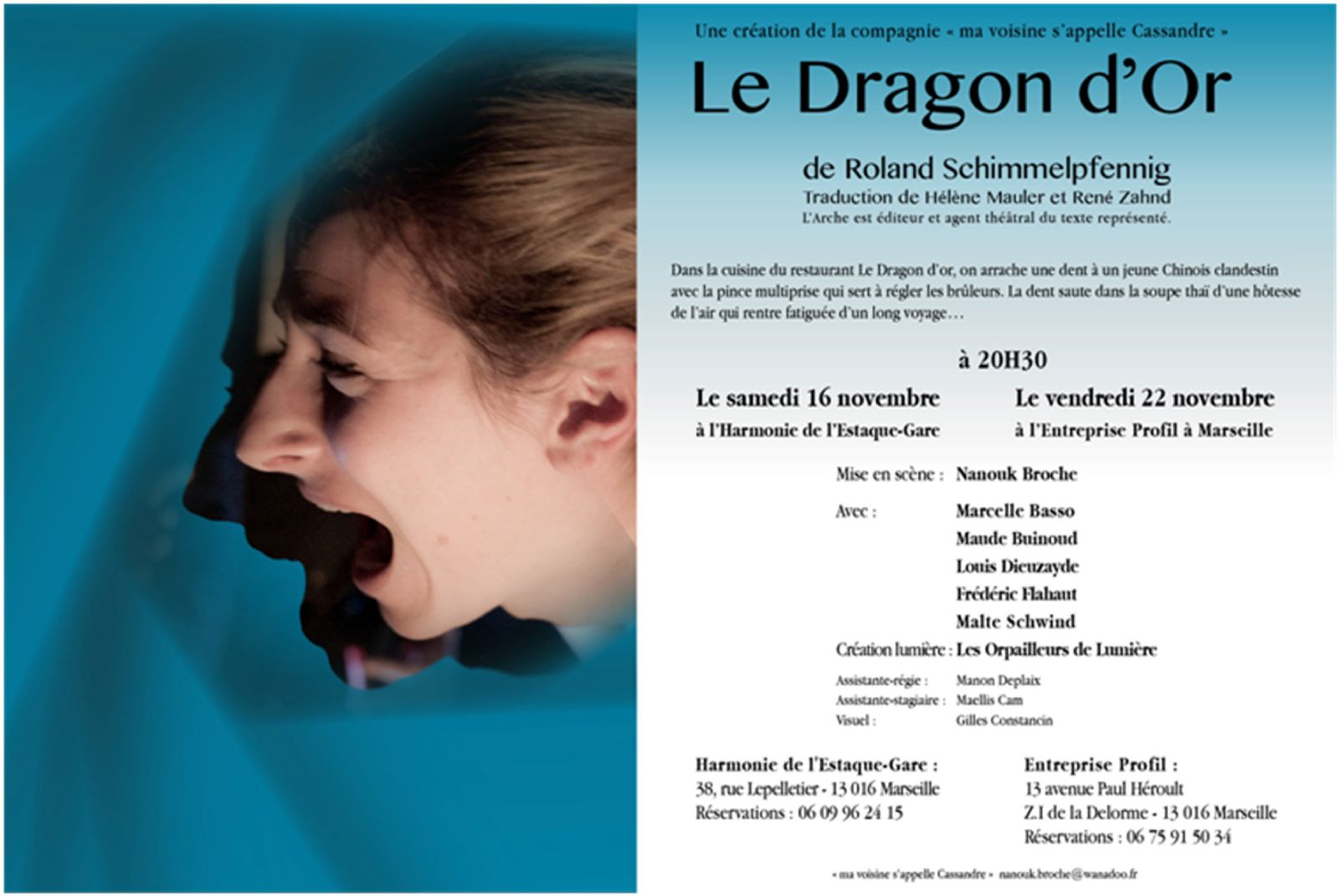 Théatre à l'Harmonie - Dragon d'or