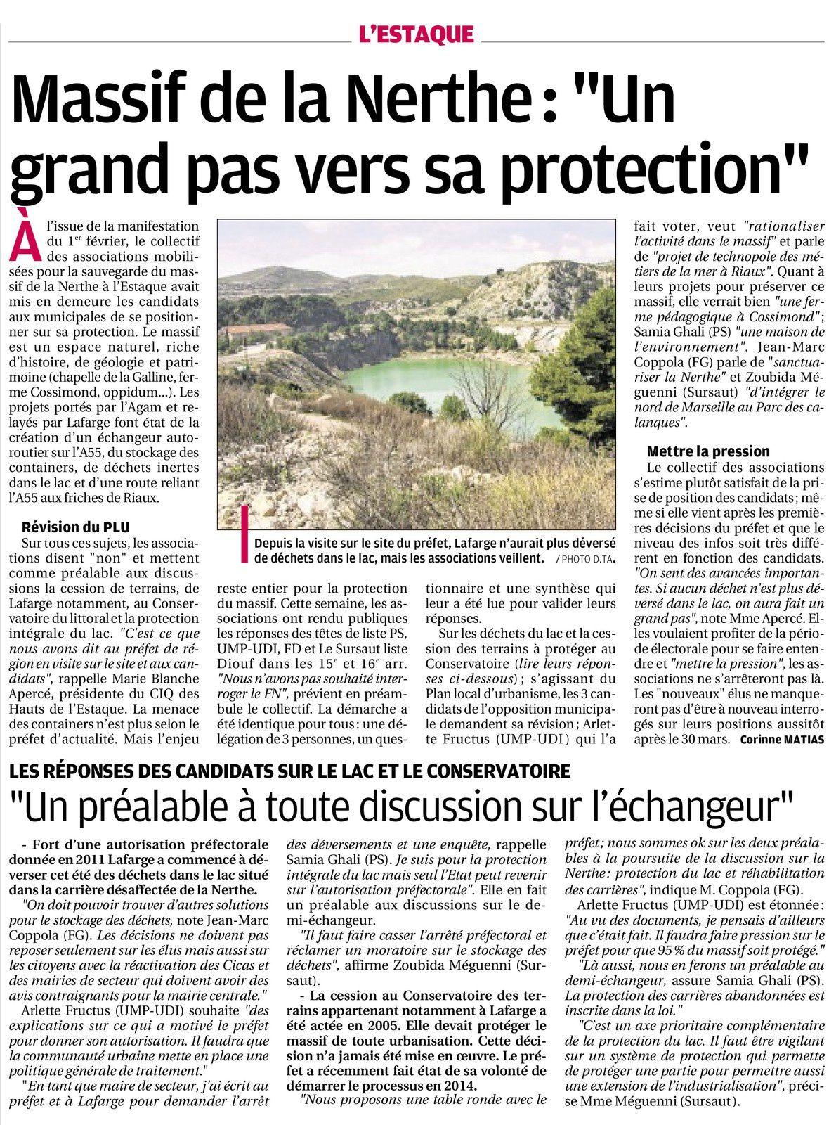 La Provence du 21 mars 2014