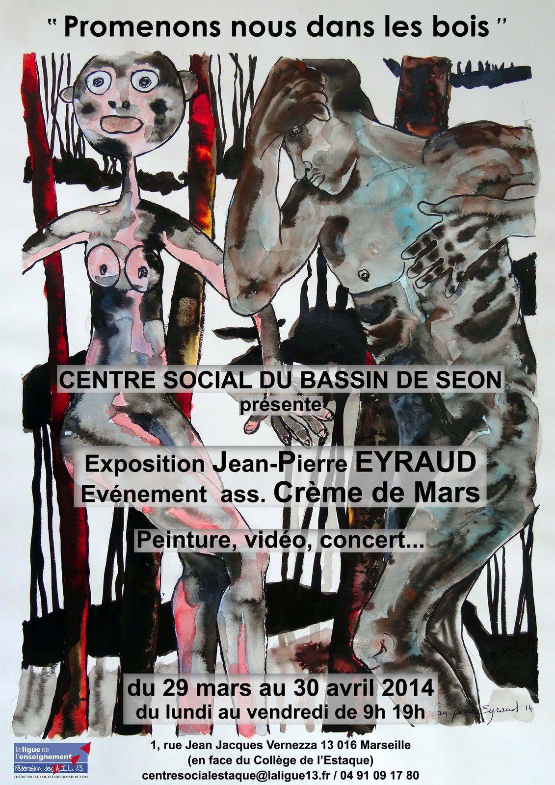 """""""Promenons nous dans les bois"""" Expo au Centre Social"""
