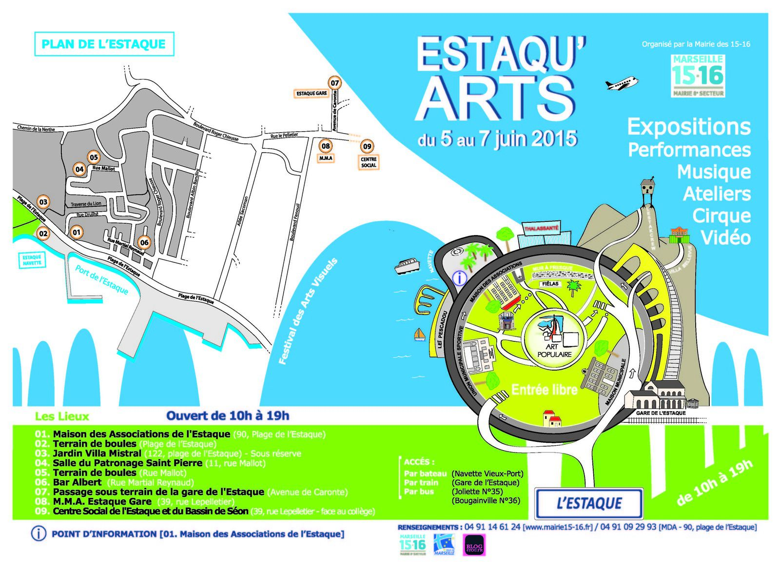 Estaqu'art 2015 - Teaser de la manifestation