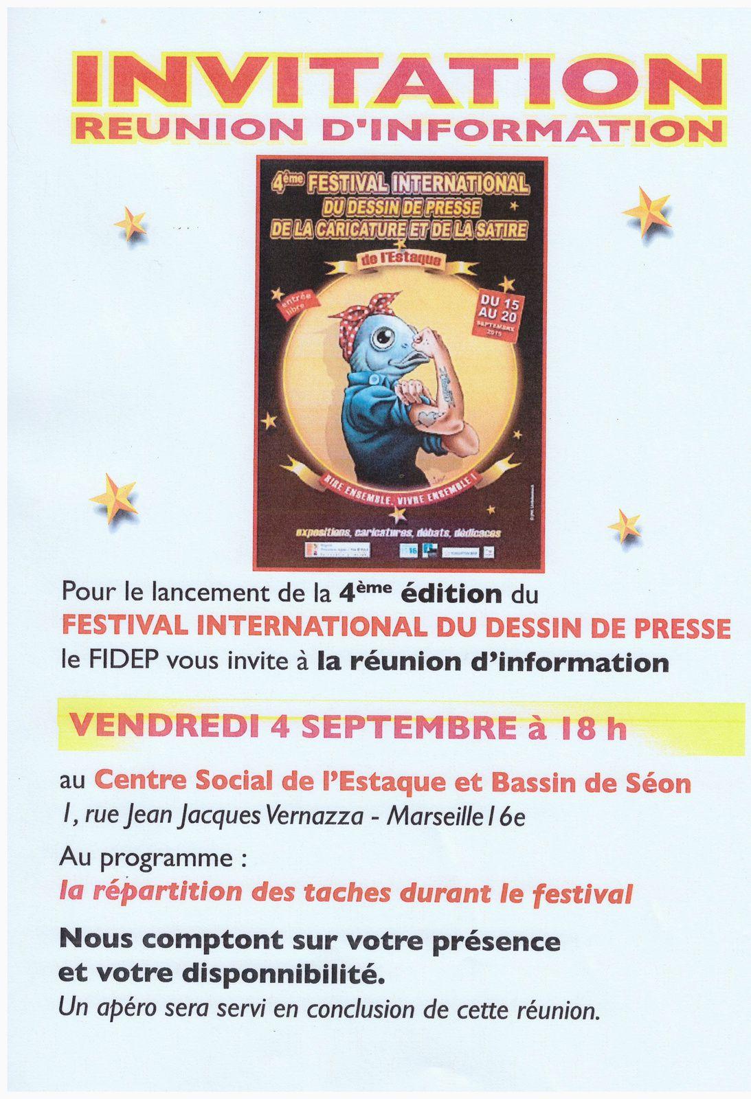 Festival de la Caricature - Appel à volontaires