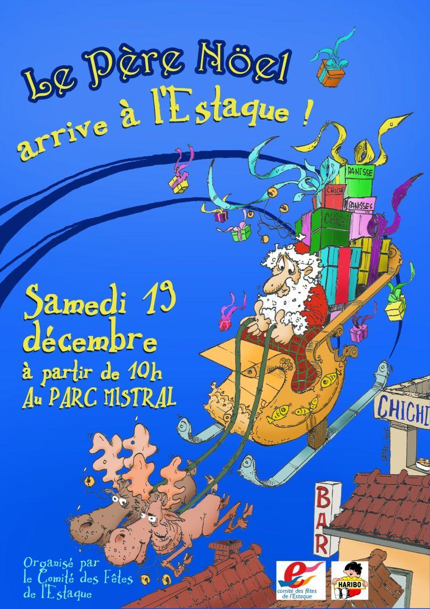 Le Père Noël arrive à l'Estaque .....