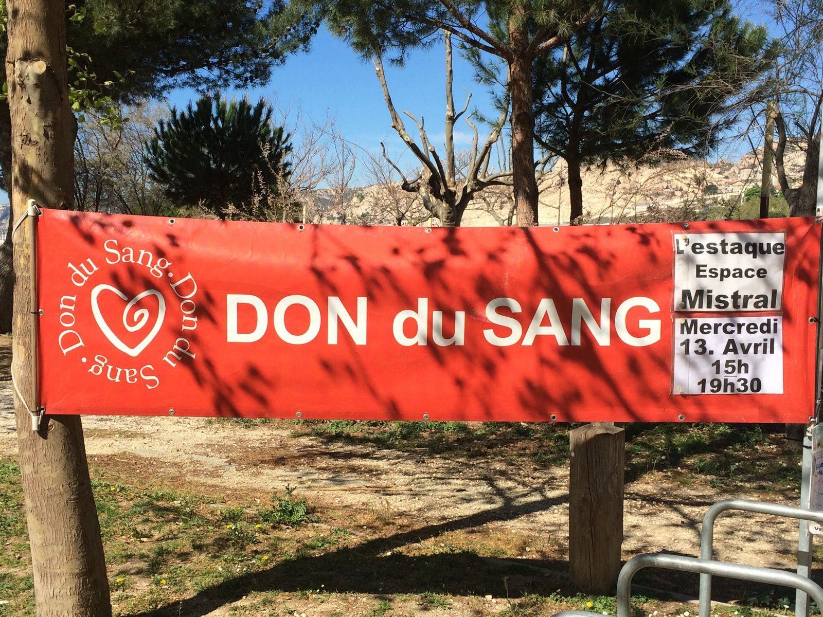 Don du Sang Estaque - Mercredi 13 Avril