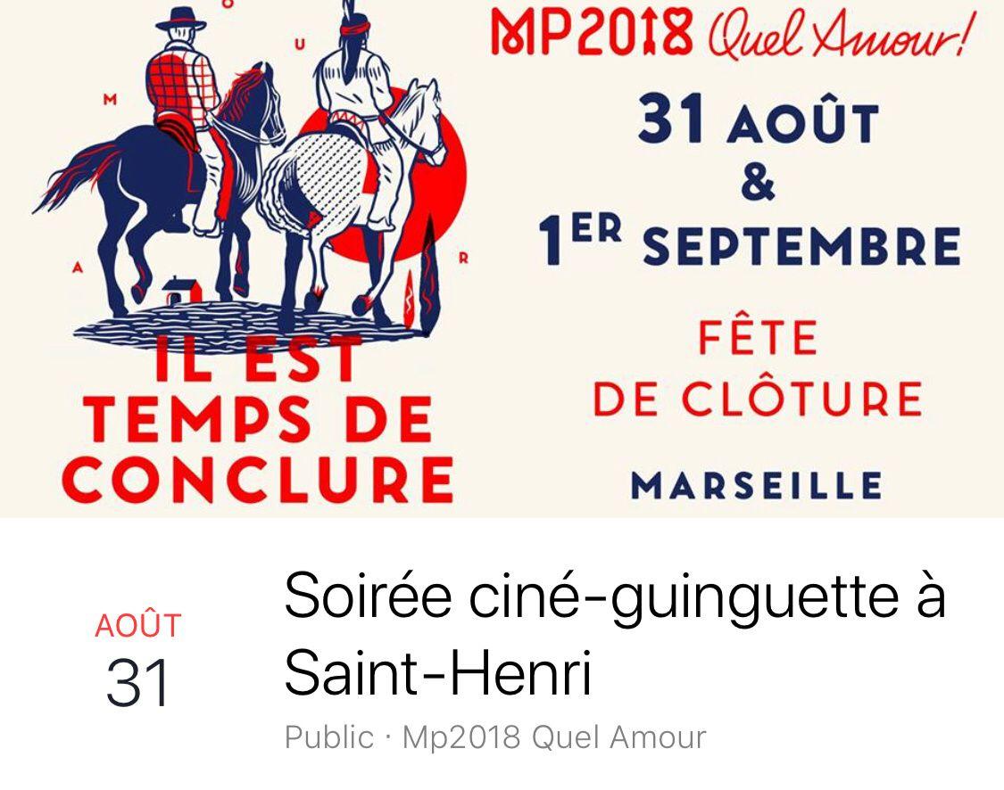 MP2018 Ciné Guinguette à Saint Henri