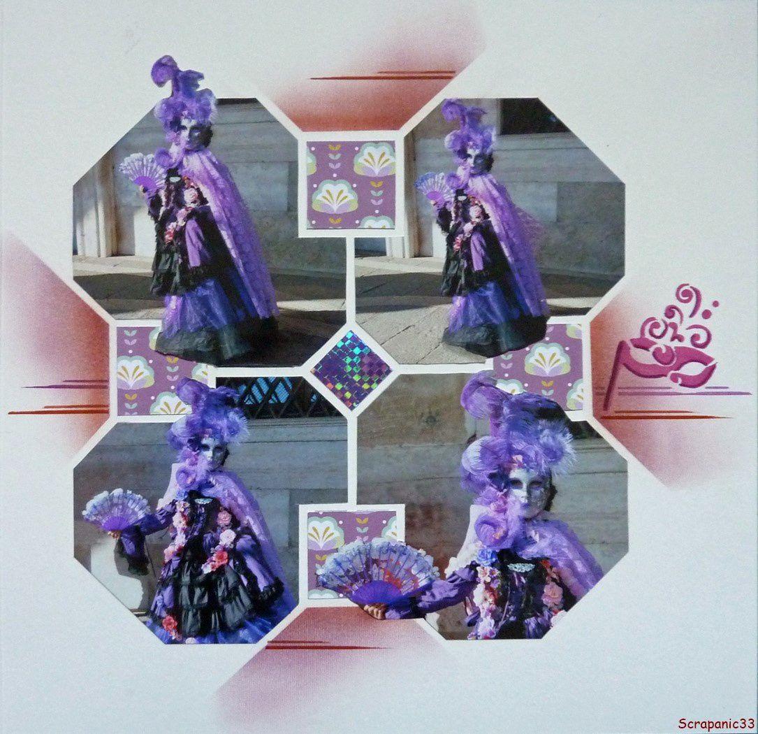 Carnaval en violet