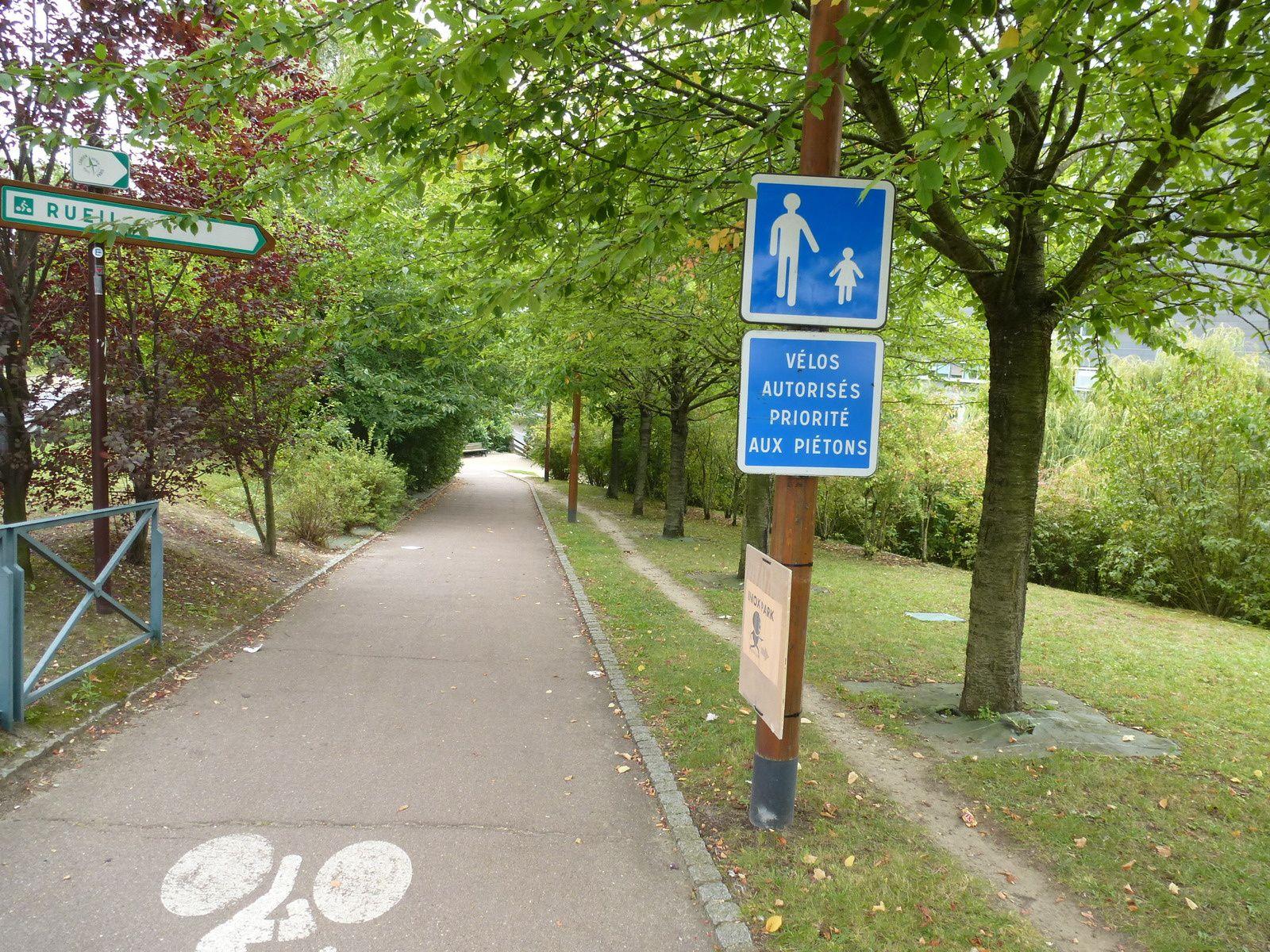 Avenue Verte de Paris à Senlis: un bon début!
