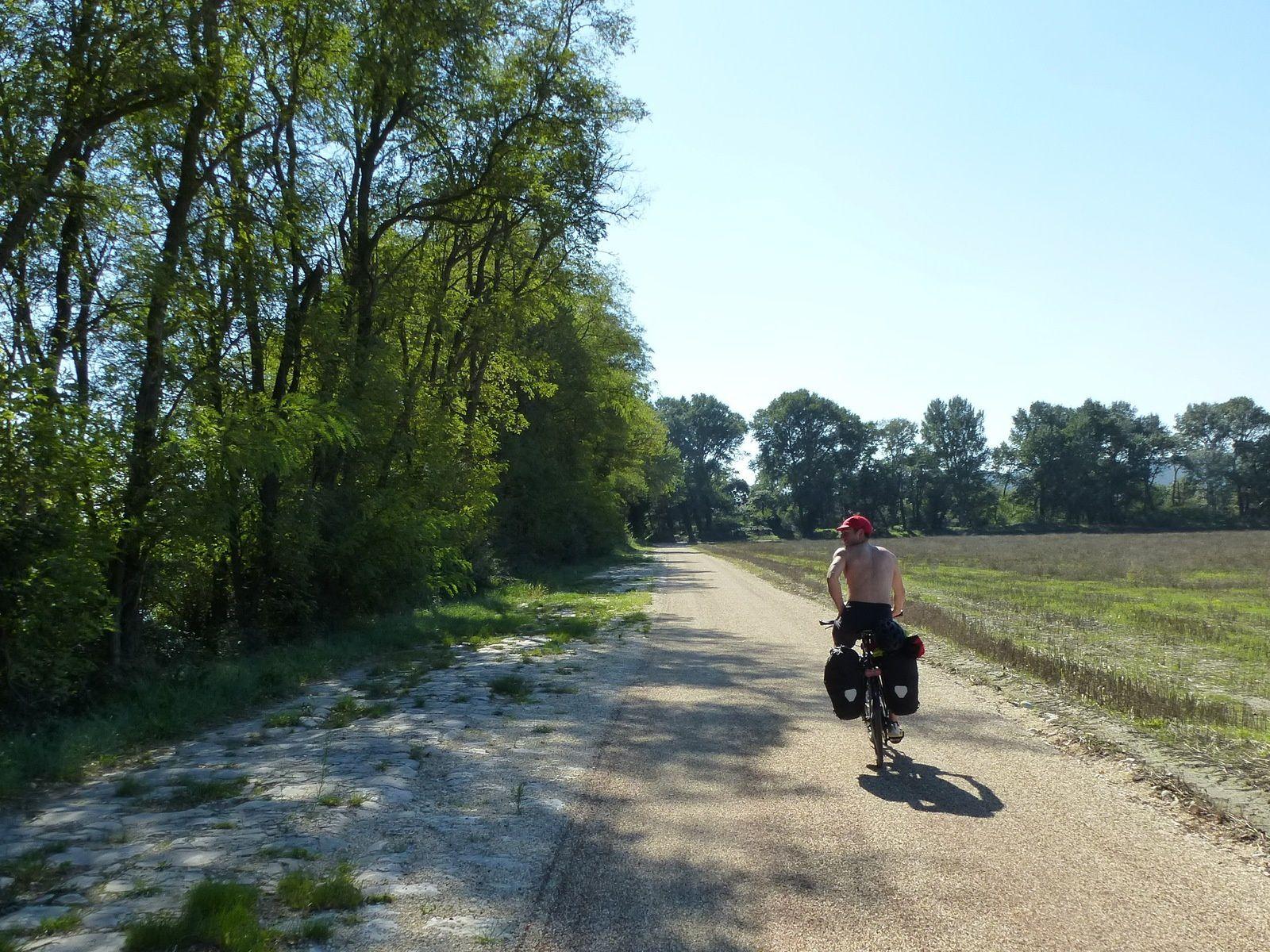 La ViaRhôna Givors - Pont St Esprit quasi continu 2