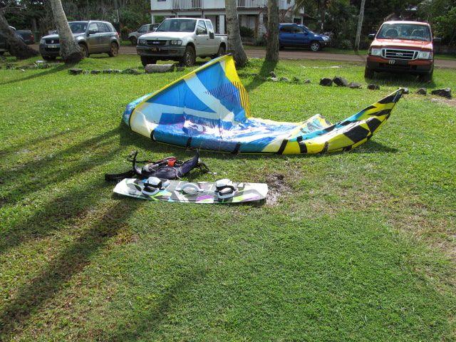Le kite - surf : peut être aux prochains mini-jeux !