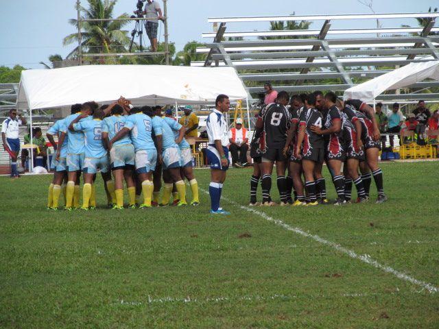Rugby : la compétition début à Wallis au stade Kafika