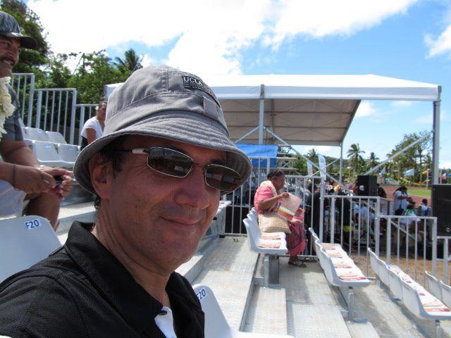 La cérémonie d'ouverture des IXème jeux du Pacifique à Wallis le 02 septembre 2013