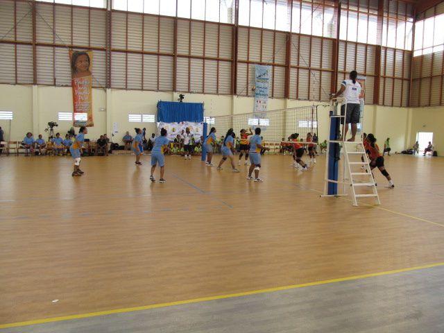 La compétition de volley se poursuit