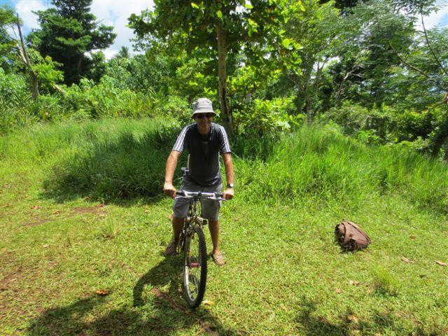 N'oubliez pas qu'il fait chaud, quand vous faites du vélo !