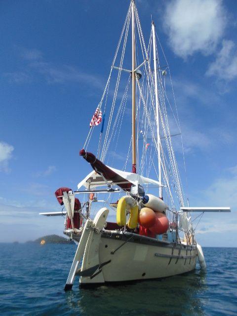 Des voiliers de passage à Wallis