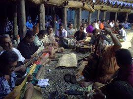 Quelques photos de la cérémonie du kava à Futuna, dans le village de Taua, Royaume d'Alo