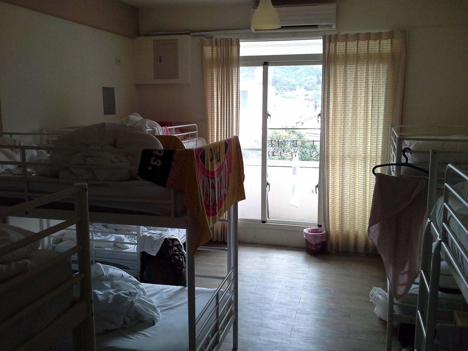 dortoir comme dans les auberges de jeunesse, tres propres.