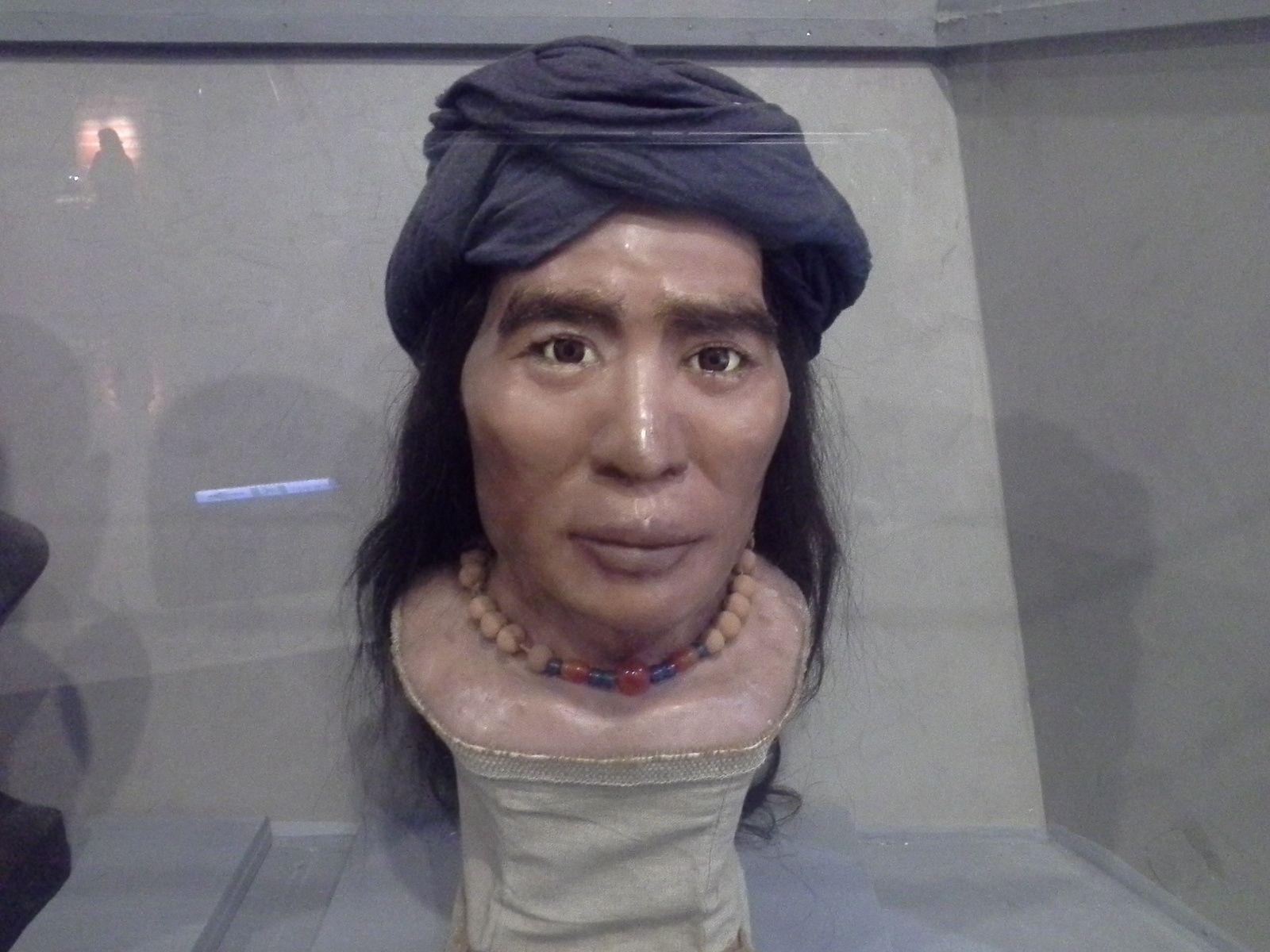 visage austronesien