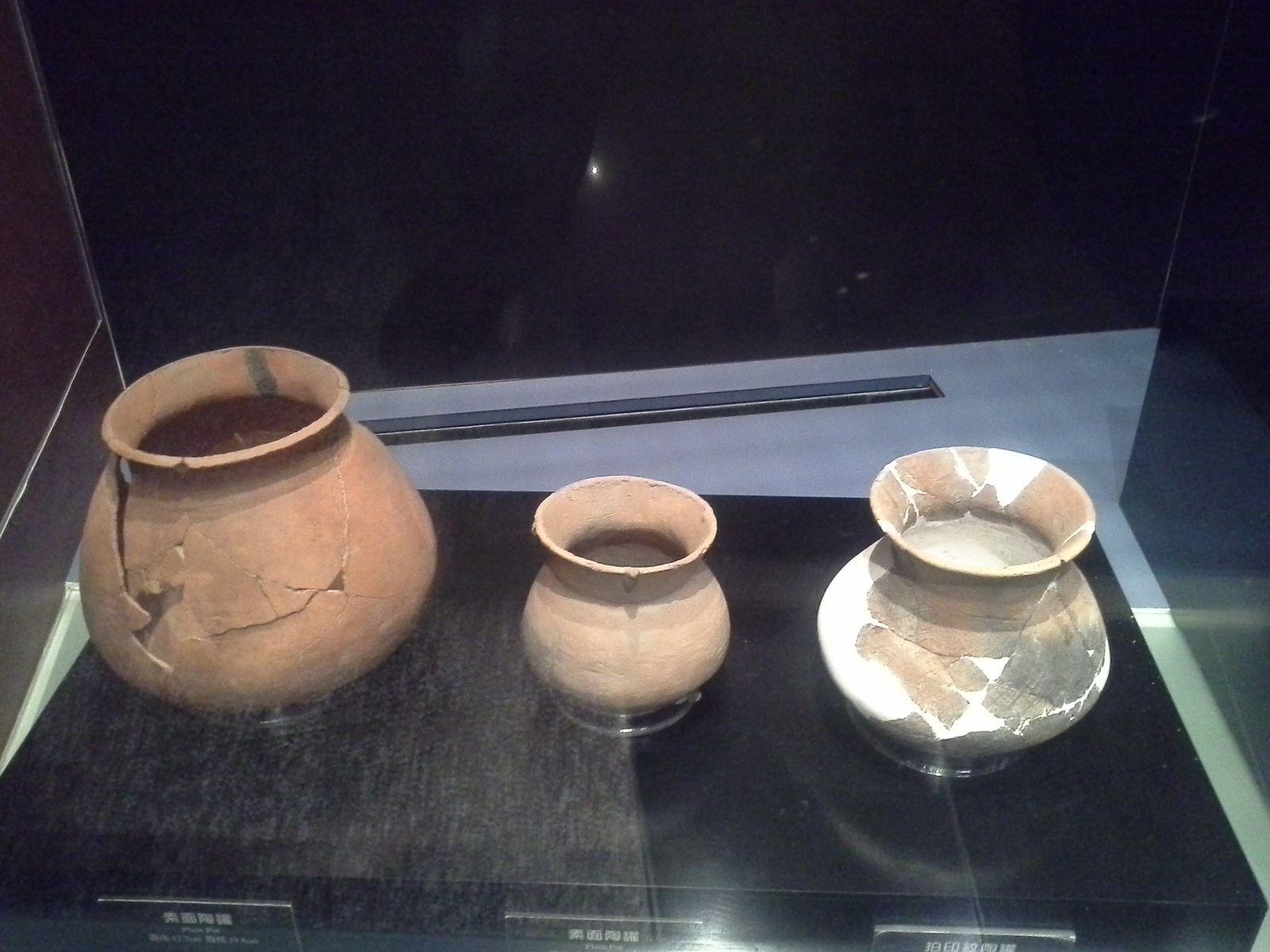 poteries retrouvées