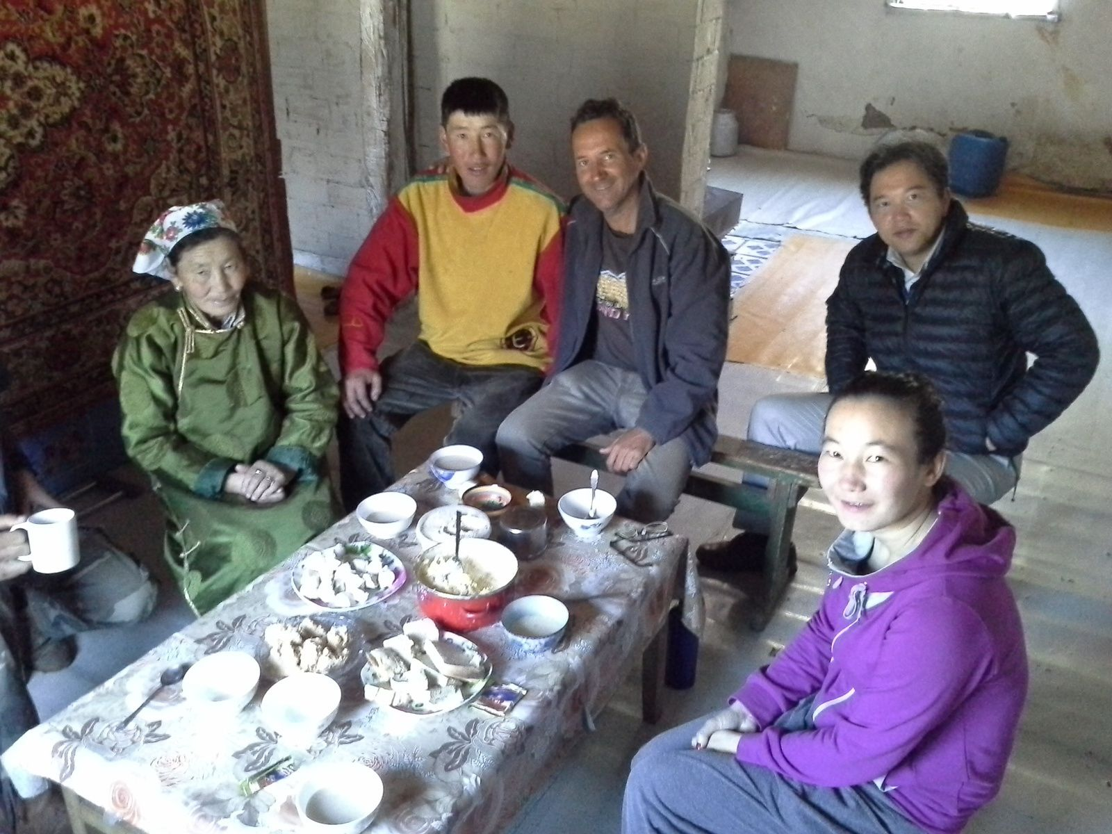Le parc national d'altai bogdan, en mongolie