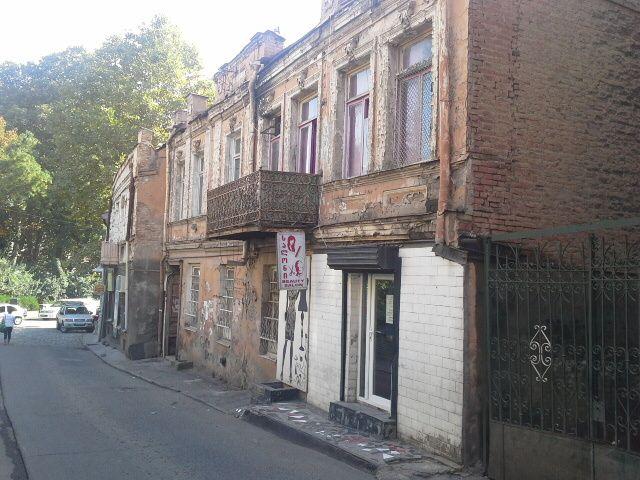 Dans la vieille ville de Tbilissi
