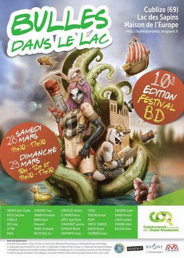 Festival Des Bulles Dans Le Lac