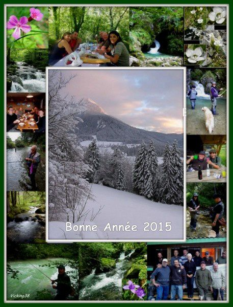 BONNE ANNEE 2015 . . .