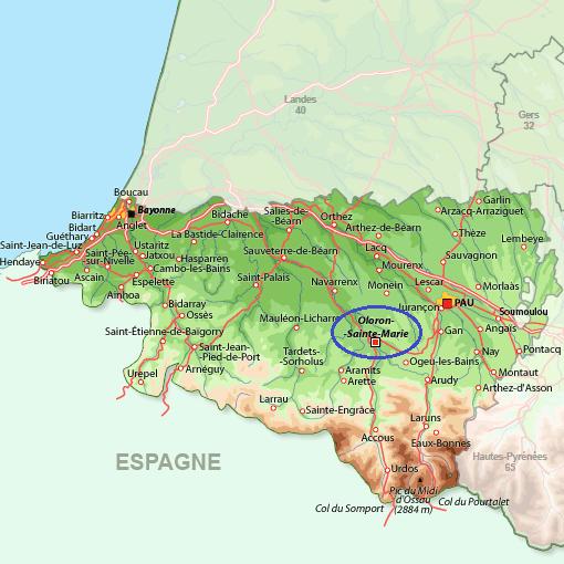 DANS LES PYRÉNÉES ATLANTIQUES (SUITE)  . . .