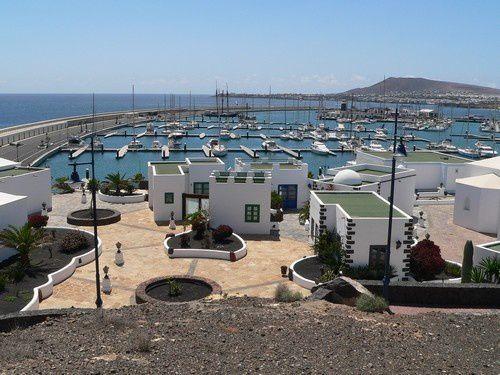 Playa Bianca  à  Lanzarote.