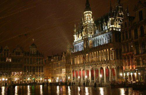 En Belgique, le Parlement de Bruxelles.