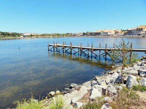L'étang  de  Gruissan