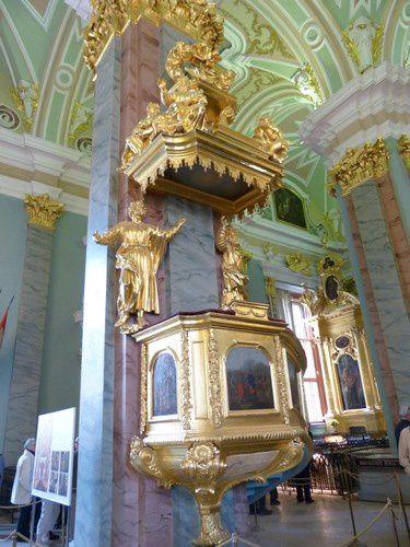 Saint Pétersbourg : la forteresse Saints Pierre et Paul