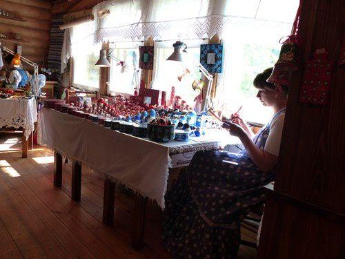 L'artisanat à Mandroga